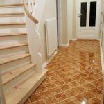 Tischlerparkett frisch versiegelt & Treppensanierung
